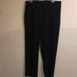 Classic black business slacks great work pants
